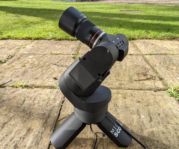 The Micro Scope   a Miniture GOTO Telescope.
