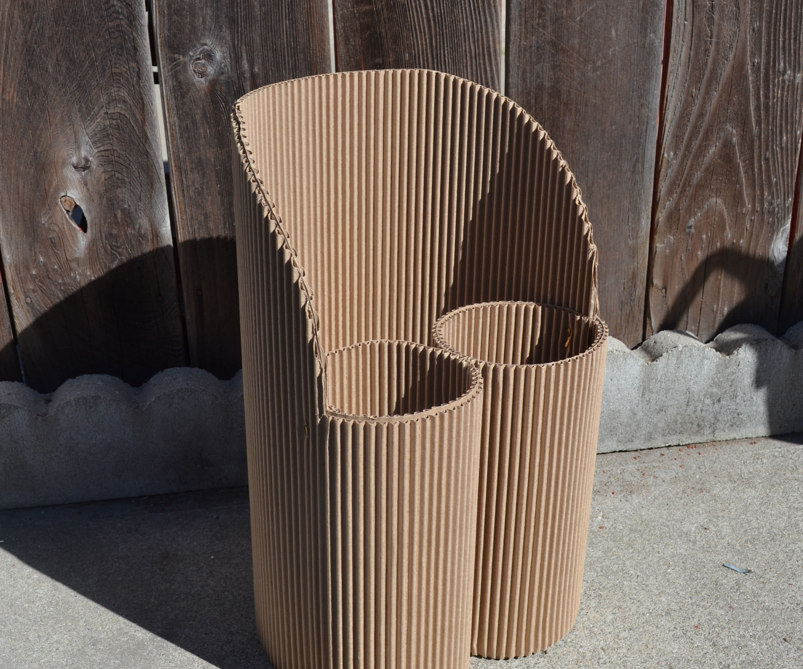 Child-sized Cardboard Chair