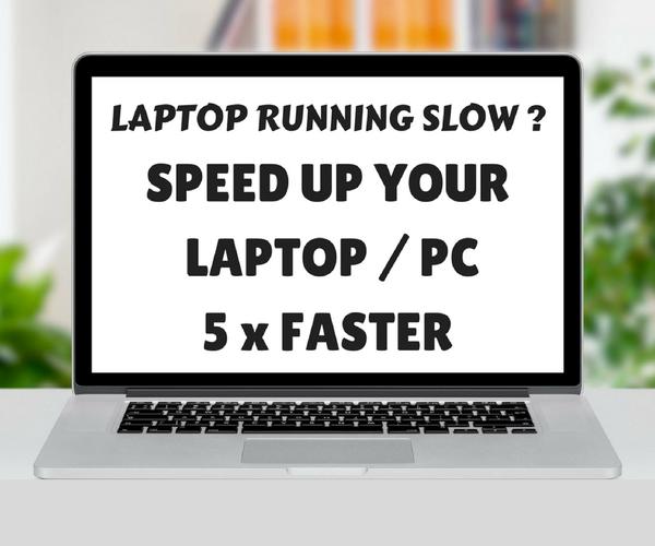 Speed Up Laptop / PC