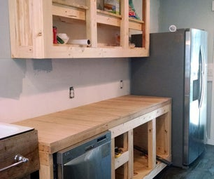 My Oak Kitchen Counter Tops Looked Like a Hill Billy After a Bad Fight Missing Some Serious Teeth. (How I Screwed Up and Then Fixed My Mistakes.)