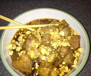 Asian Pork With Soba Noodles
