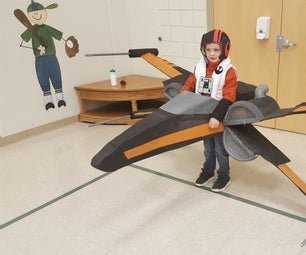 Poe Dameron and His X-Wing