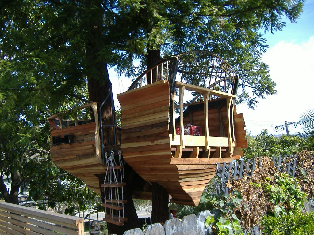 Pirate Ship Tree House 8 Steps With Pictures Instructables