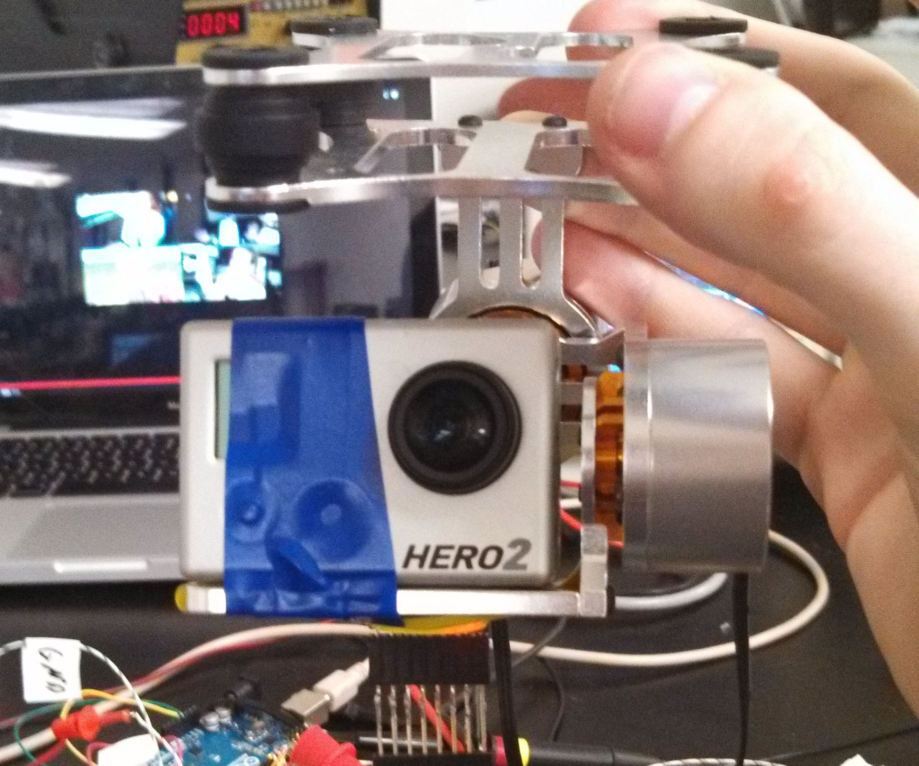 Brushless Gimbal with Arduino