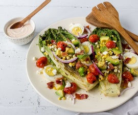 Grilled Tex Mex Romaine Salad