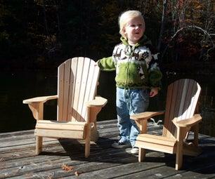 Child Size Adirondack Chairs