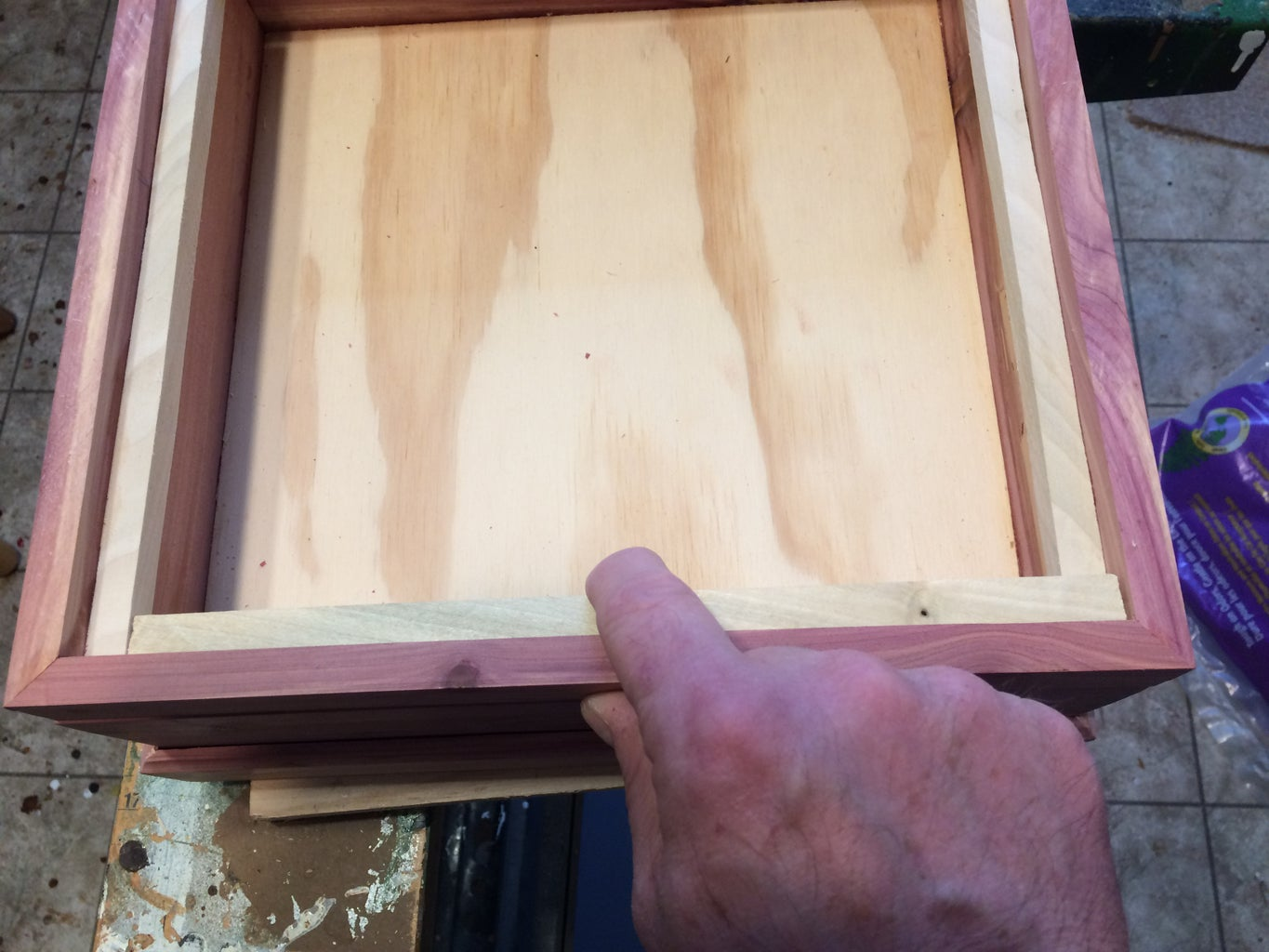 Reinforcing the Lid