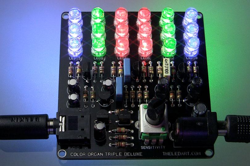 Color Organ Triple Deluxe II