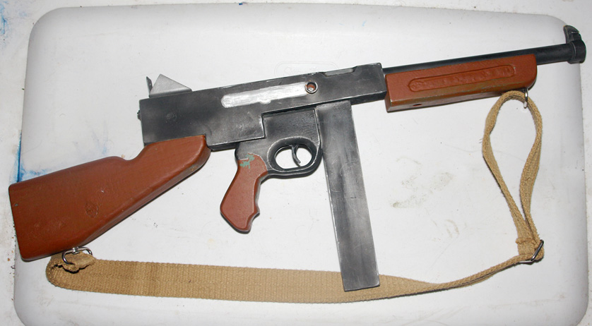 Wooden Thompson WWII