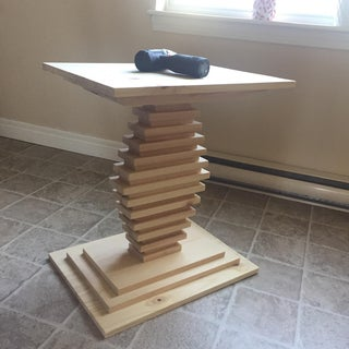 DIY Small Side Table/nightstand