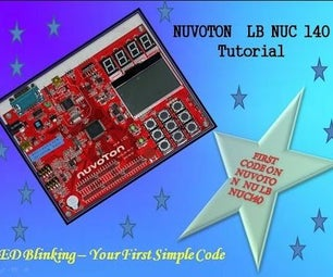 Nuvoton NUC 140 First Code Till the End With Hardware