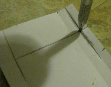 Create Mounting Notch