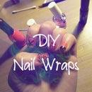 DIY nail wraps