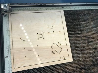 Laser Etch the Wooden Parts