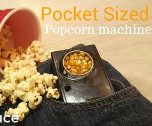 The Pocket Sized Popcorn Machine