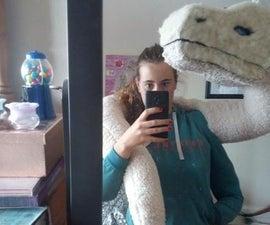 Amazing Soft Giant Dragon Shoulder Puppet!