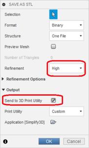 Sending Model to Slicer