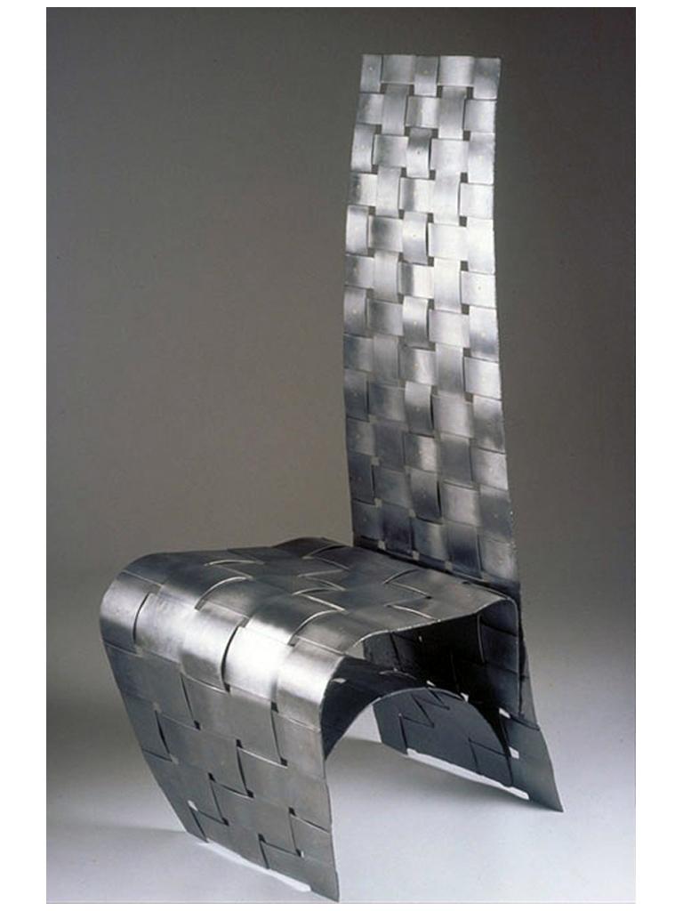 Woven Steel chair