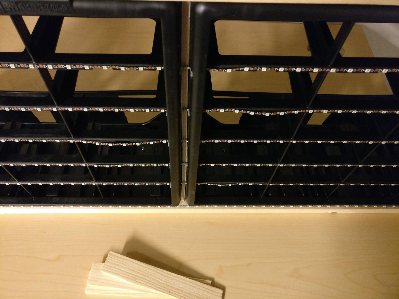 Construction - Adjusting the Boards