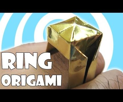 Easy Origami Ring