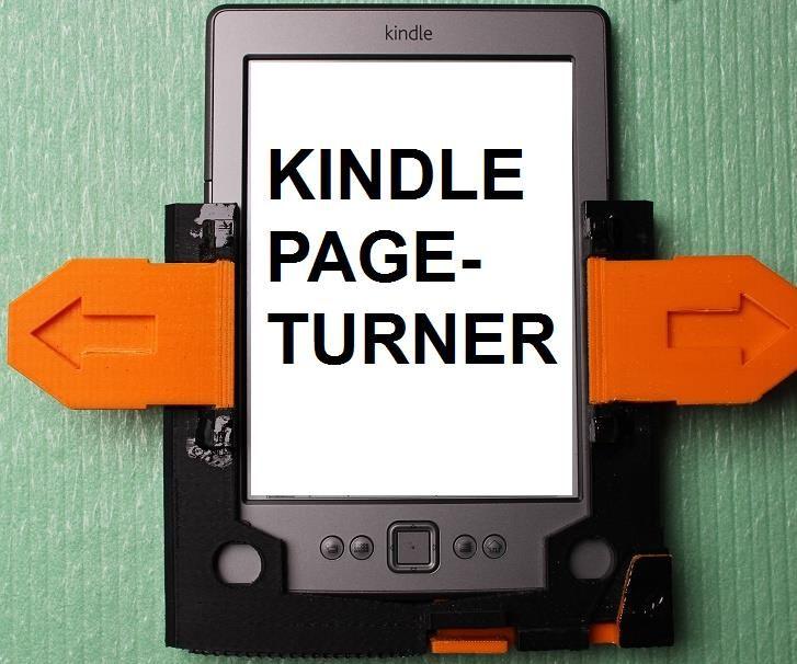 Kindle Page Turner - 3D printed