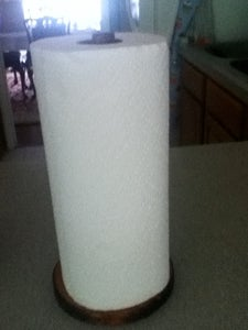 Home Made Paper Towel Holder (Very Easy)