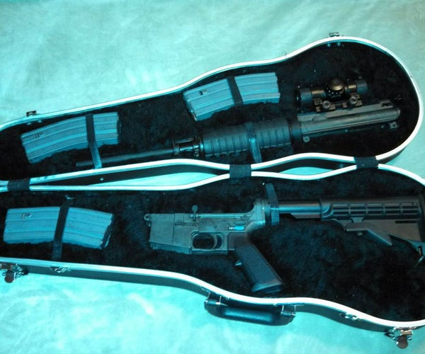 Custom Rifle Case From Violin Case