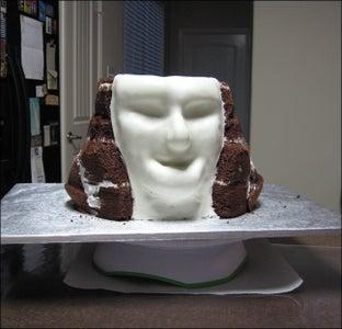 Adding the Fondant Face