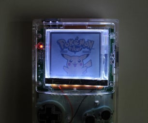 Game Boy Color Frontlight Install With LOCA