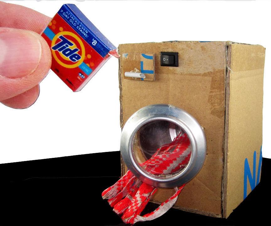EASY Washing Machine Toy- DIY Project