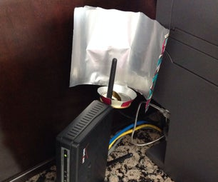 *Free* DIY Recycled Can WiFi Antenna