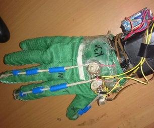 DIY Cheap Glove Controller and Propeller Car