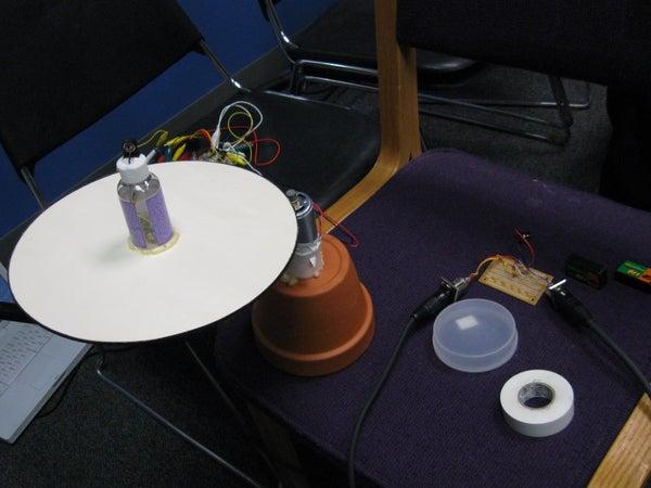 Make a Rotating Microphone