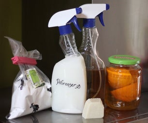 Eco-friendly (and Cheap) Kitchen Cleaning