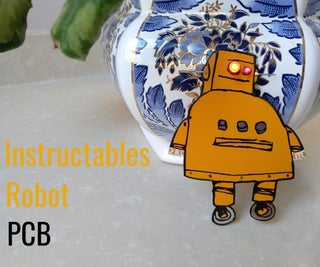 Instructables Robot PCB