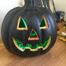 Interactive Jack-o-lantern (sees You, Taunts and Changes Colour): Use Electronics to Scare Your Friends This Halloween