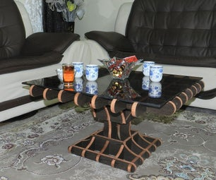 How to Make a Grid Table at Home Balkony