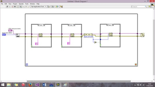 LabVIEW: Structures and Joining the Dots