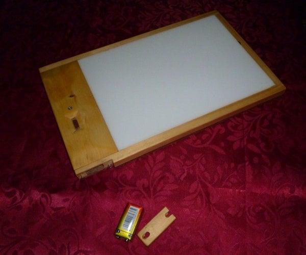 Make a Cordless Lightbox