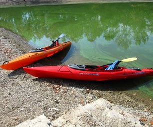 Flush Mount Rod Holders Into a Pungo 120 Kayak