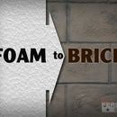 How to Make Styrofoam Look Like Brick
