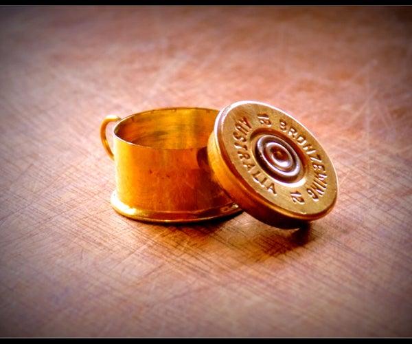 Shotgun Shell Locket V2