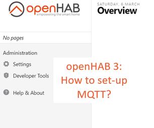 MQTT on Openhab 3 Tutorial