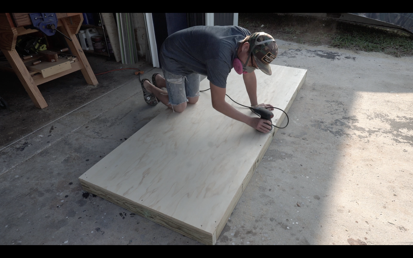 Affixing and Finishing the Top