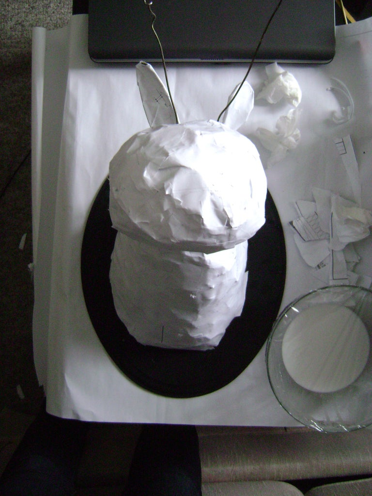 Applying the Paper Clay