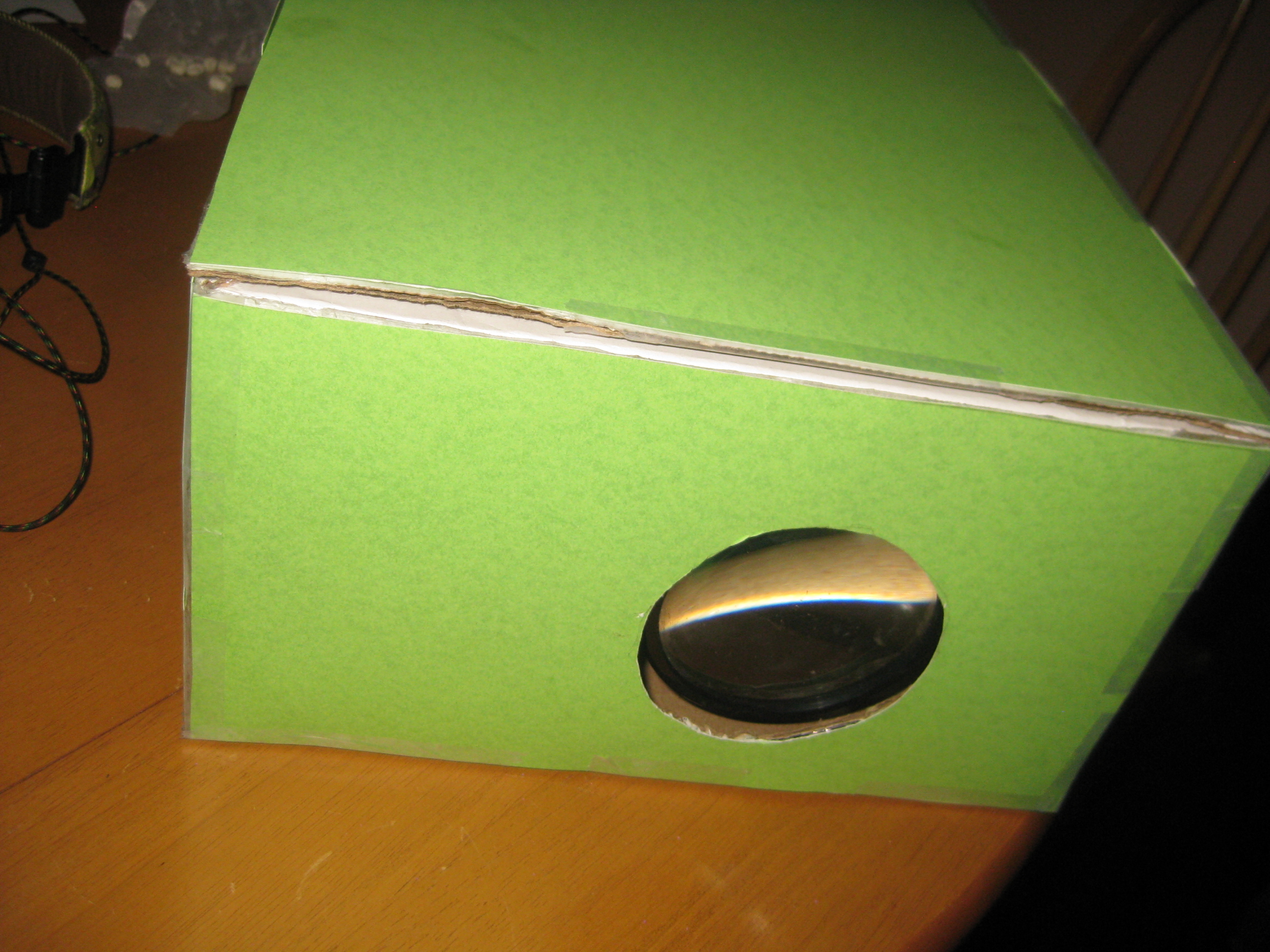 How to Make a Shoebox iPhone/iPod Projector (WITH TEST VIDEO)