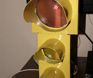 DIY Music Synchronized LED Traffic Light