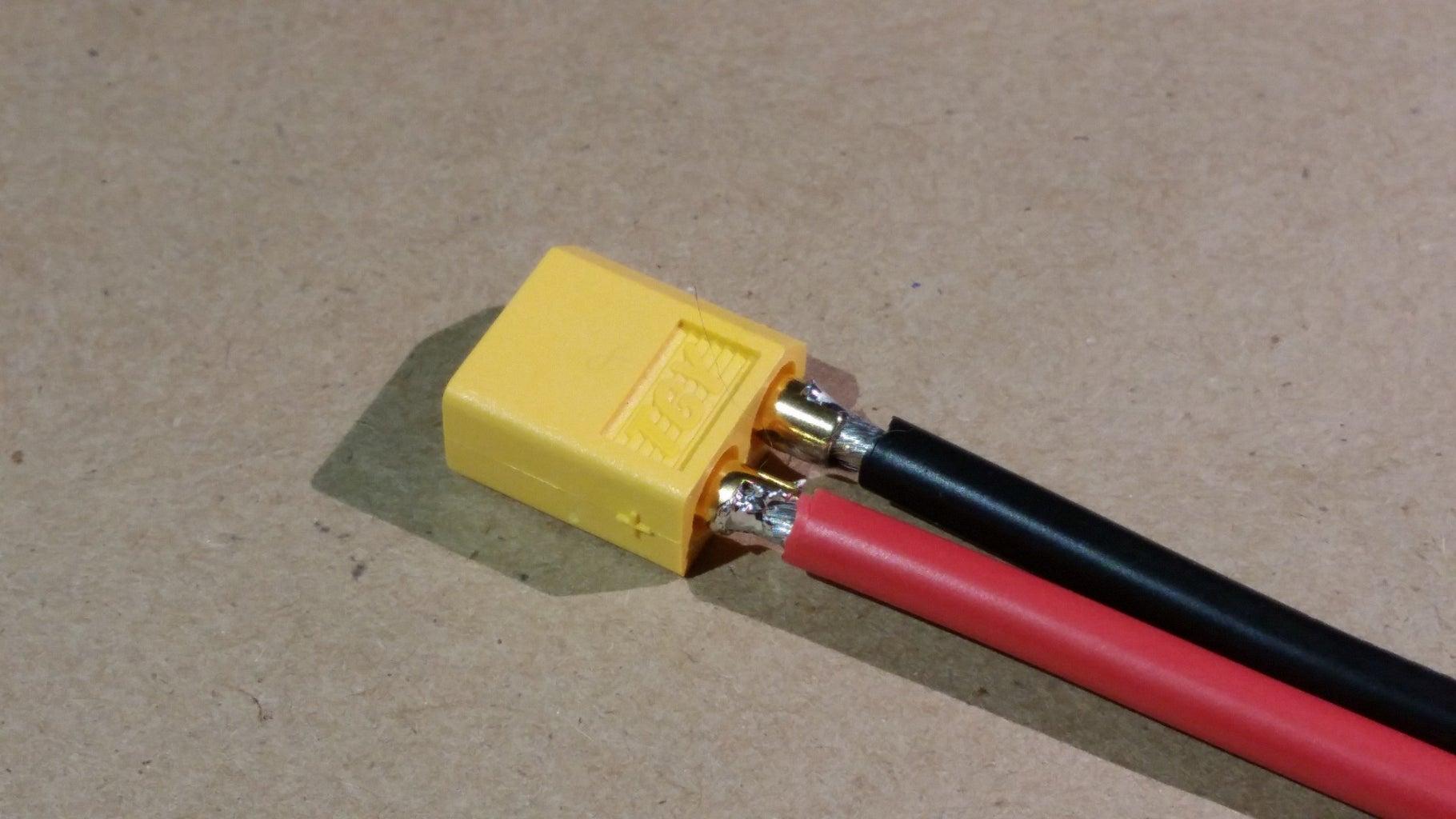 Assemble Battery Connector