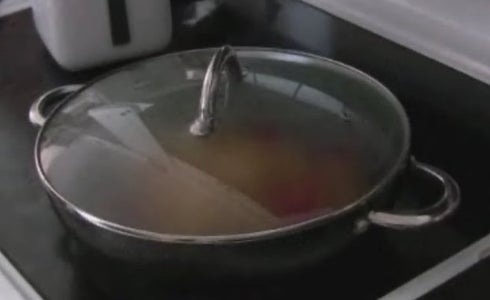 Cooking: the Lazy Bit