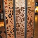 Steampunk Tri-Fold Room Divider